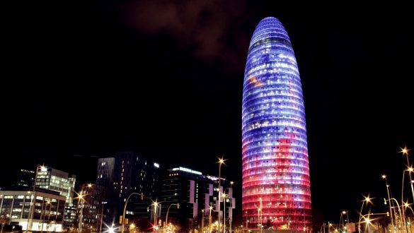 Barcelona Agbar Tower Alex Rud Flickr